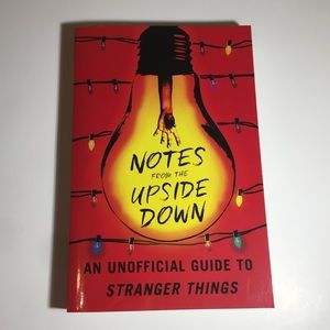 notes from the upside down - stranger things book